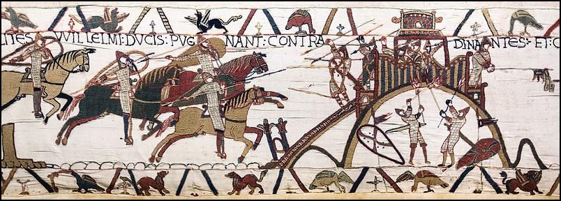 L'attaque de Dinan où le brave Harold s'est illustré.